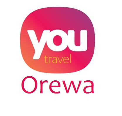 LOGO YOU TRAVEL OREWA