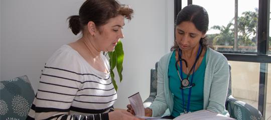 NEW Dr Sudha & Fiona.JPG