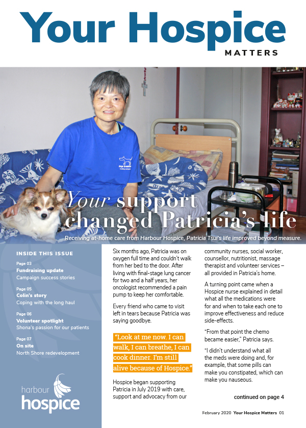 Your Hospice Matters February 2020 cover