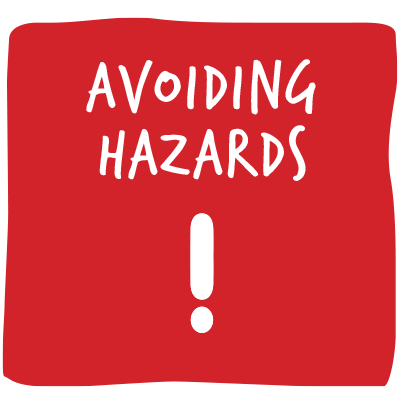 Avoiding hazards