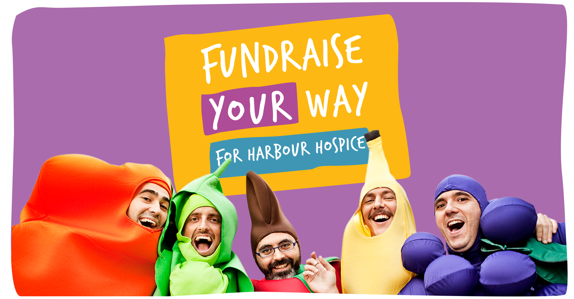 Fundraise your way banner