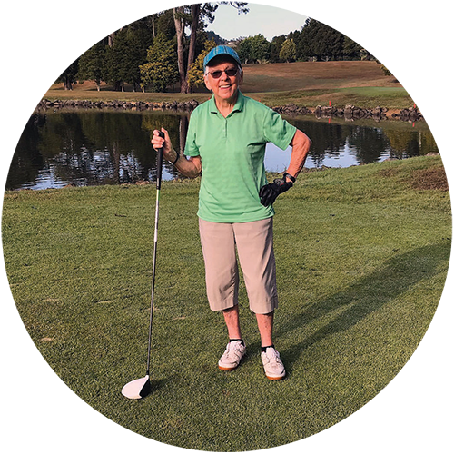 Colleen Gorbey golf