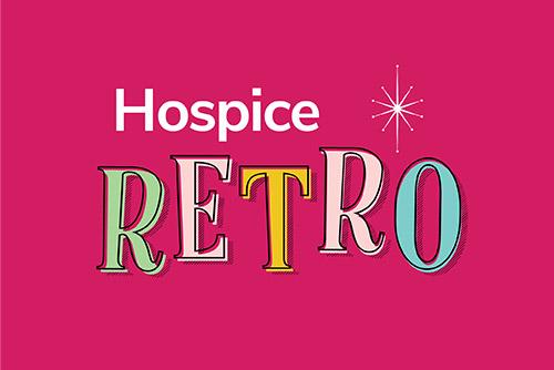 Retro shop logo web