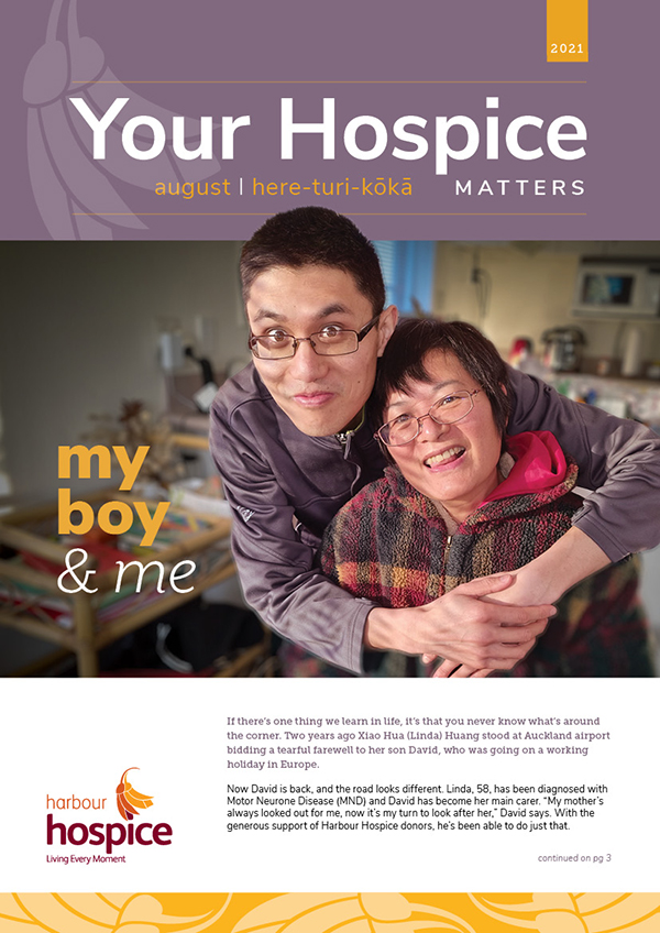August Your Hospice Matters 2021 cover
