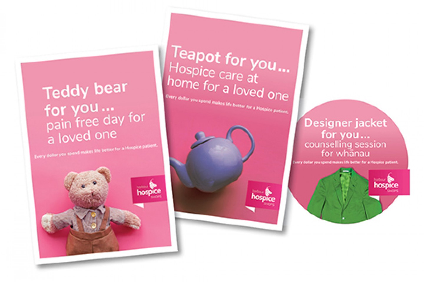 For You Hospice Shops campaign