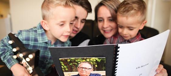 Kirsty McAlpine, Rhys, Cade and Brodie 2016 LifeBook1
