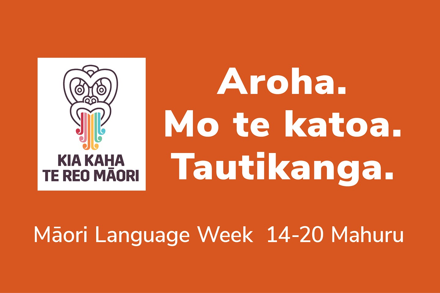 Maori Language week (blog)